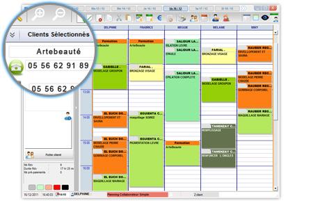 planning artebeauté